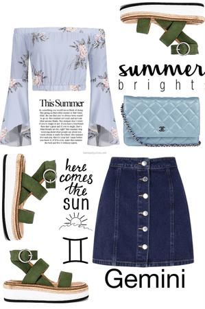 Gemini Summer Vibe