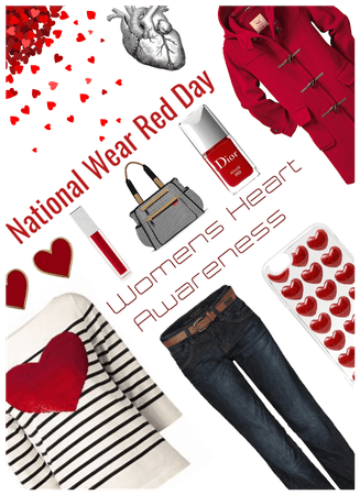 National wear red day/Womens heart awareness