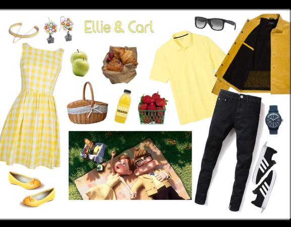 Ellie & Carl outfit - Disneybounding