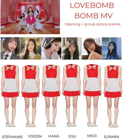 LOVEBOMB - bomb mv scenes