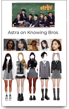 Astra on Knowing Bros