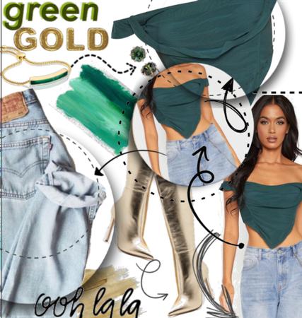 |For Jeans & Cute Top Challenge|💚✨Ooh La La