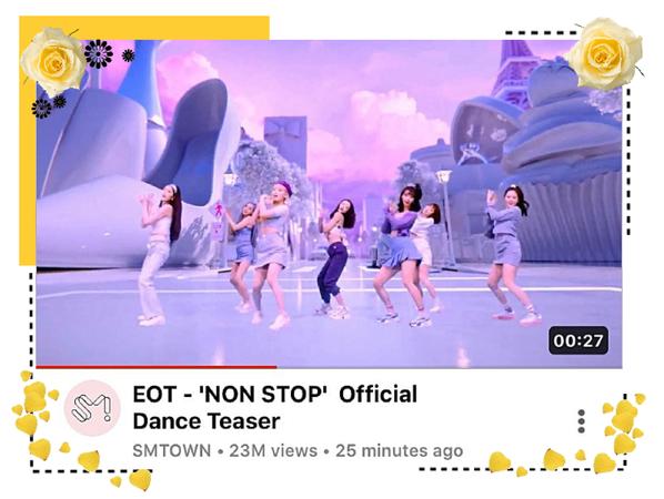 EOT(내일의 황후) | 'NONSTOP' Official Choreo Teaser