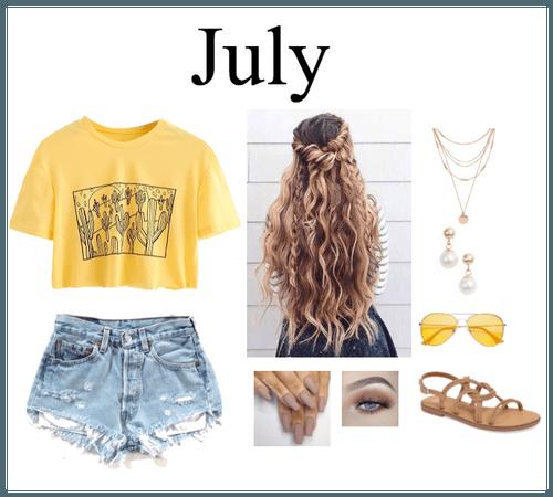 July by: Noah Cyrus