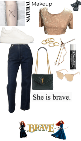 Modern Day Merida (Brave)