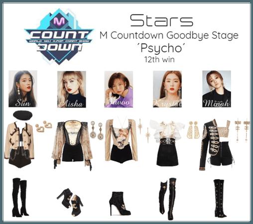 [ STARS - PSYCHO] M Countdown Goodbye Stage