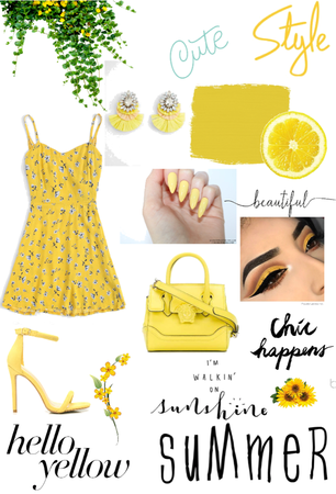 yellow hello