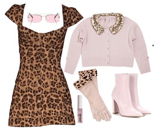 valentines leopard