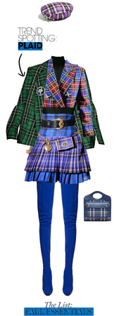 Plaid Outfit for Fall