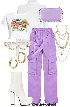 hype fit - lilac ☮️