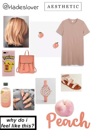 peach 🍑 aesthetic