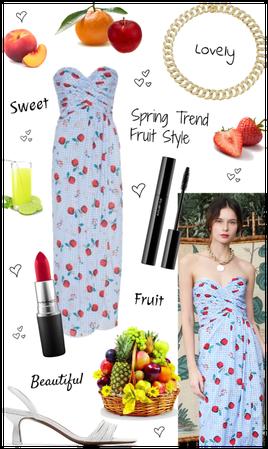 SPRING TREND: FRUIT PRINT