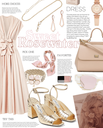 sweet rosewater | simple summer dress