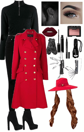 DIY Halloween Costume - Carmen Sandiego