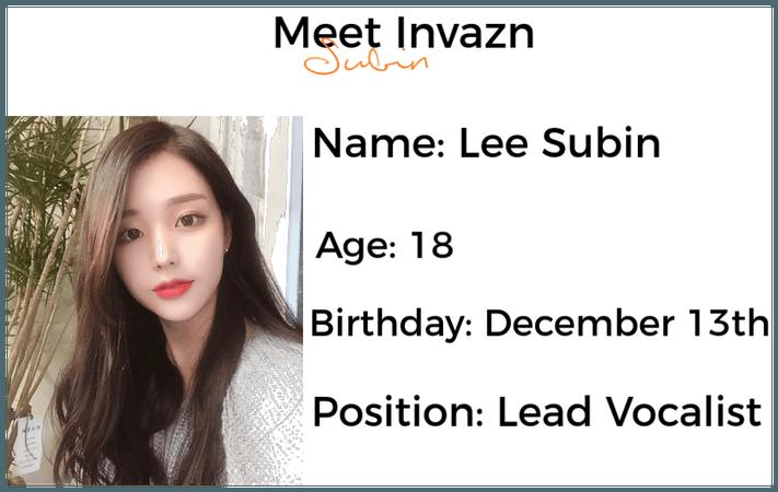 Meet INVAZN Subin