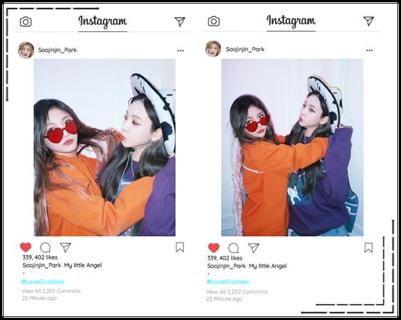 Crushes (호감) [Soojin] Instagram Update