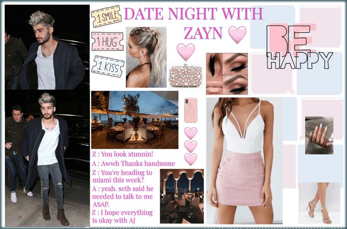 Adriana : Date night with Zayn