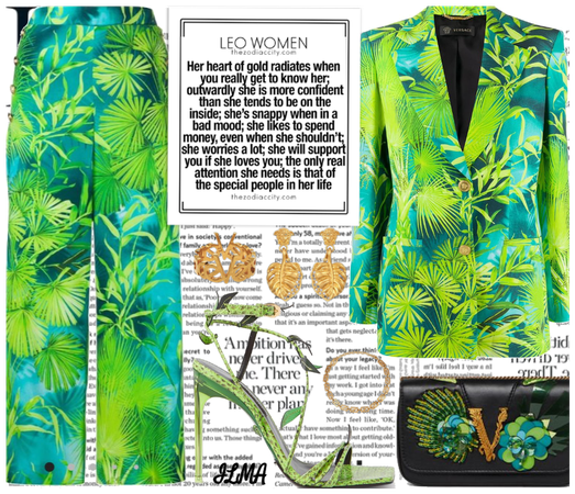 Versace outfit for Leo