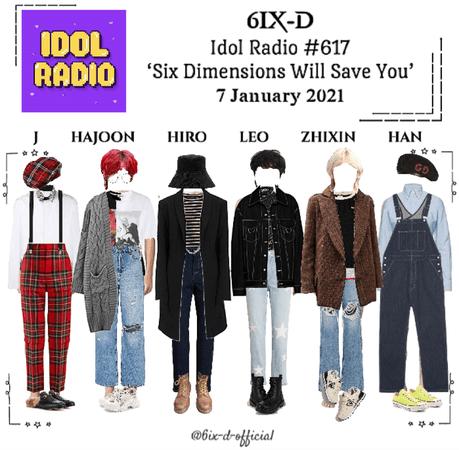 6IX-D [씩스띠] Idol Radio 210107