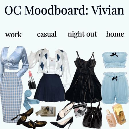 OC Moodboard: Vivian