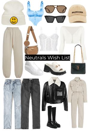 Neutral Wish List