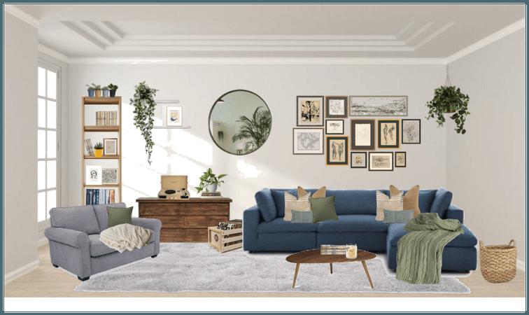Dream Living Room -Neutrals