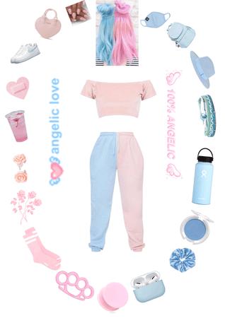 pastel pink vs baby blue