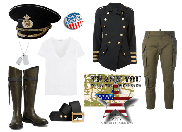 ARMED FORCES DAY MILITARY STYLE