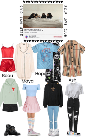DI-VERSE Life Ep. 2 Outfits