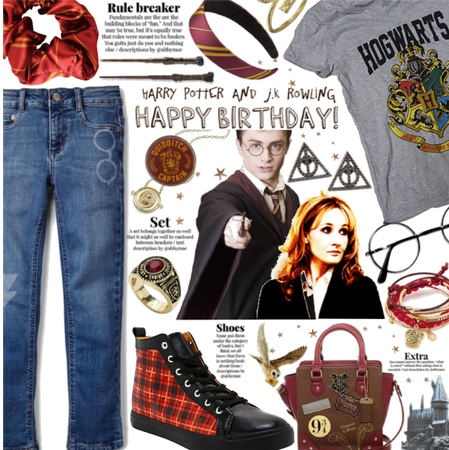 Harry and J.K Rowling we LOVE YOU! Happy bday!