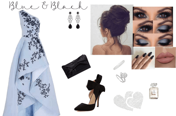 blue &black