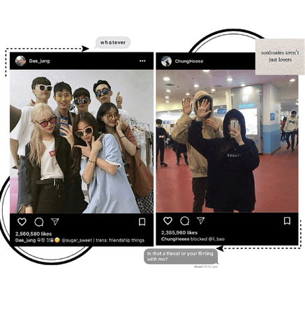 Dae & Chunghee's IG post