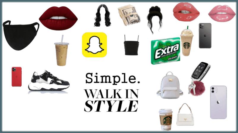 simple walk in styles