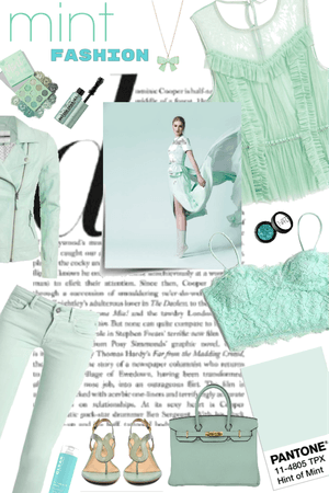 Minty Green Monochrome