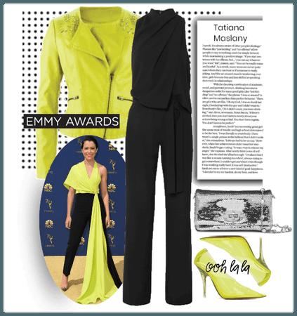 Get Inspired: Emmy Awards - Tatiana Maslany