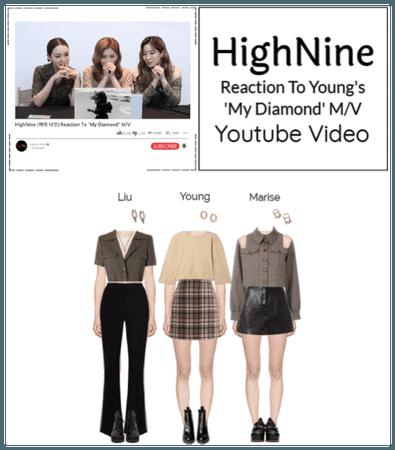 "HighNine (하이 나인) Reaction To Young ""My Diamond"" MV"