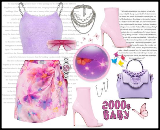 2000s butterfly