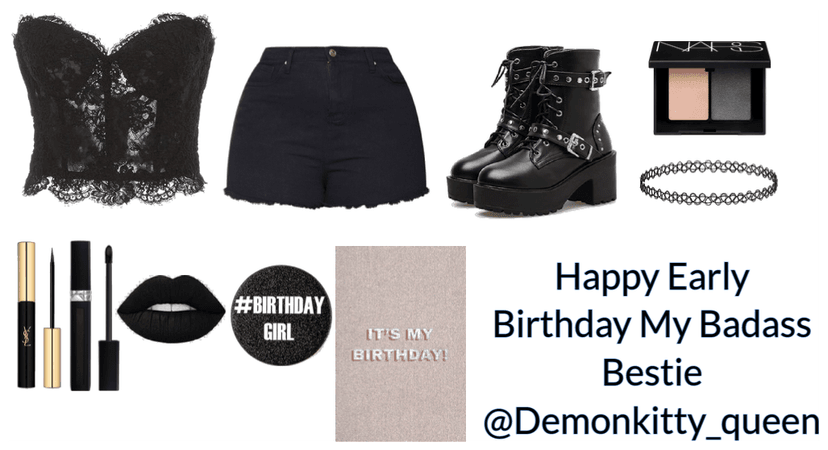 Happy Early Birthday Outfit For @Demonkitty_queen