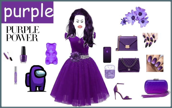 cutie purple