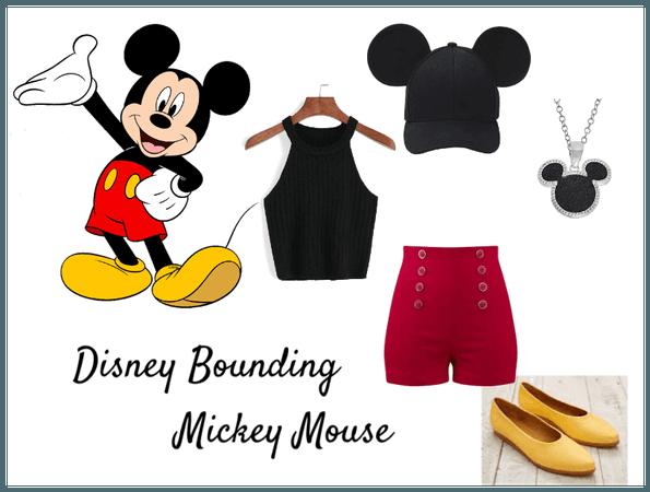 Disney Bounding Mickey Mouse