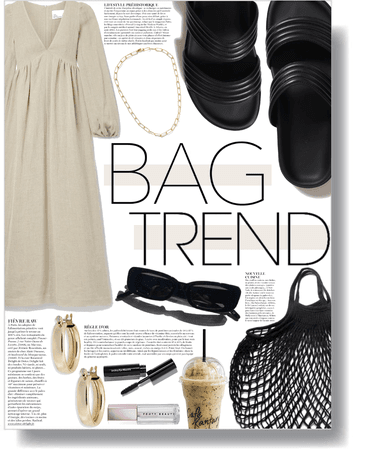 bag trend: netted bags 🖤