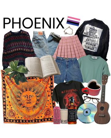phoenix aesthetic