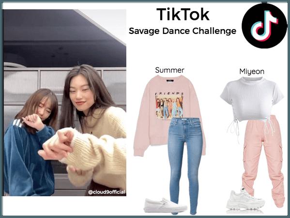 savage dance challenge | tiktok