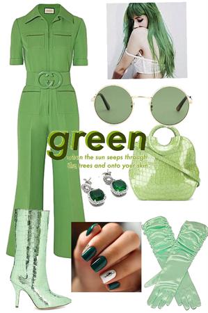 green 💚 #1