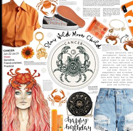Orange. You Glad I'm a Cancer? | CANCER 2020| HP!