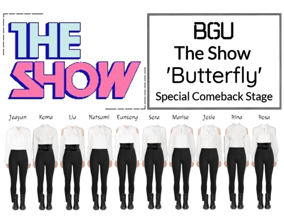 BGU The Show 'Butterfly' Special Stage