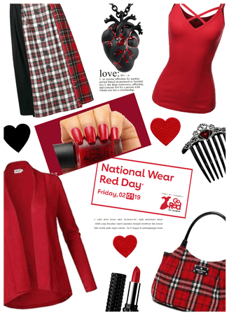 Ntl Wear red day/Womens heart awareness