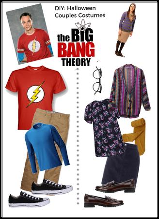 DIY Halloween Couples Big bang theory