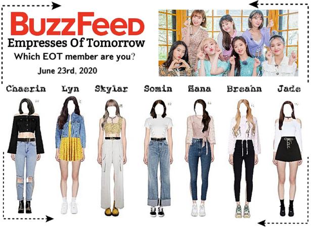 EOT(내일의 황후) | US Tour: Buzzfeed
