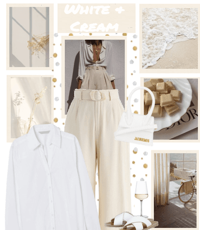 WHITE & CREAM
